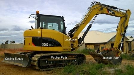 Maintaining Earthmoving Equipment Checklist