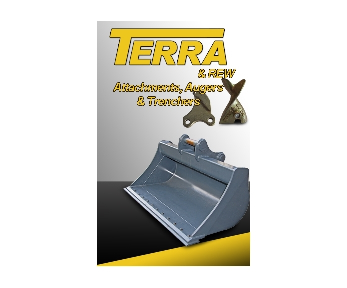 Terrappe Group stocks a wide variety of attachments to fit all machinery makes and models