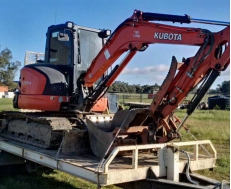 Excavator Owner Back on Track
